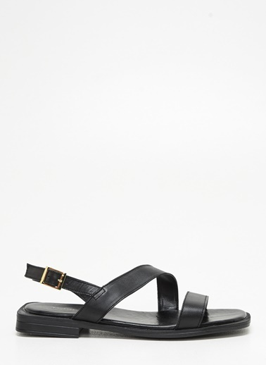 F By Fabrika Kadın Ten Sandalet KELLY Siyah